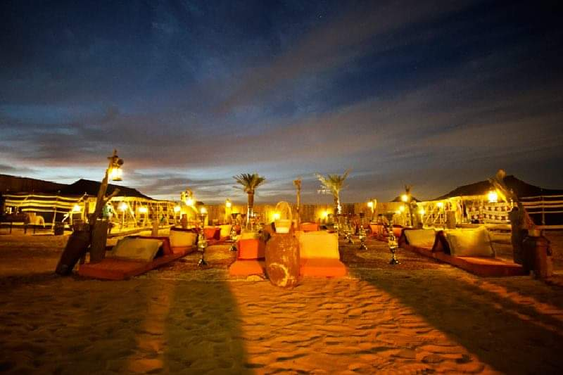 Overnight camping at Desert Safari Dubai
